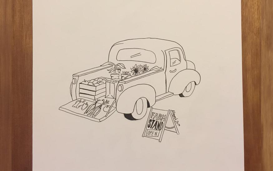 Farmers' Market illustration
